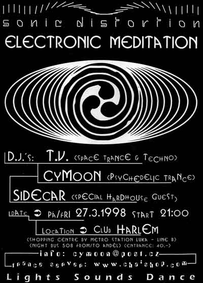 Electronic Meditation flyer